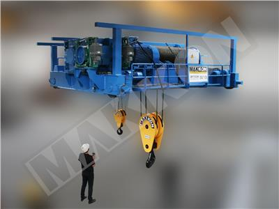 Shaft Crane 50/10 ton